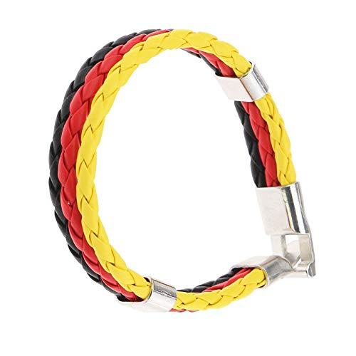 ENET Geflochtenes Armband, handgefertigt, für Fußball-Fans, Souvenir
