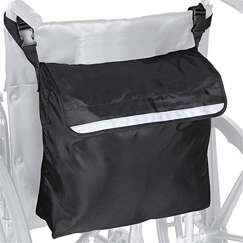 LZW Rollstuhlrucksack Multifunktions-Rollstuhlbeutel Universal-Rollstuhlbeutel Mobilitätshilfe Rollstuhlzubehörtasche für ältere Rollstuhlfahrer Aufbewahrung für manuelle oder
