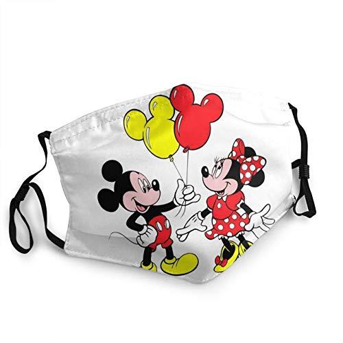 Mickey Mouse - Funda anticontaminante para adultos con orejeras ajustables para hombre y mujer.
