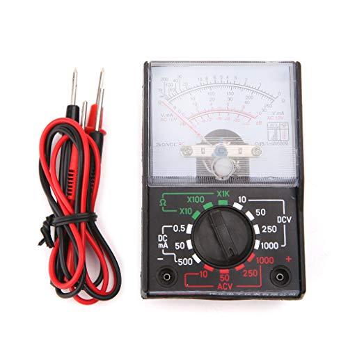 VIcoo DC/AC 1000 V voltmeter 250 mA ampèremeter 1 karaat weerstandsmeter analoog multimeter gereedschap
