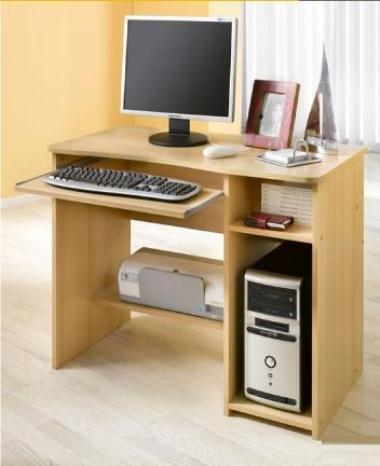 Schülerschreibtisch - Computertisch - PC-Tisch buche 8048