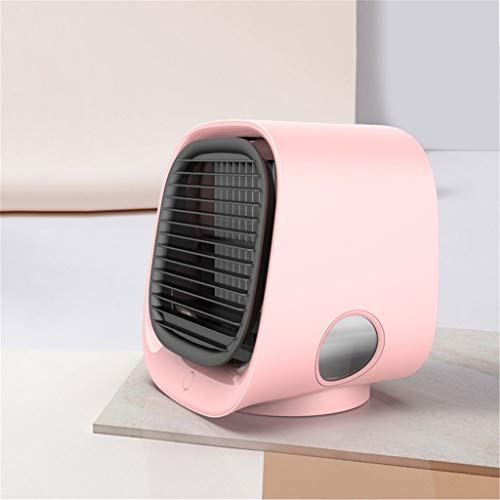 DFSDG New Air Cooler Mini Humidification Usb Fan Portable Office Home Desktop Air Conditioning Fan Gift (Color : C)