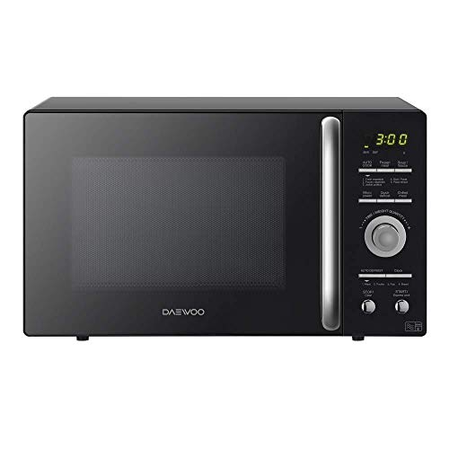 Daewoo KOR9GQRR Touch Control Microwave Oven, 900 W, 26 Litre, Black