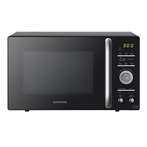 41HxslLkc2L. SS500  - Daewoo KOR9GQRR Touch Control Microwave Oven, 900 W, 26 Litre, Black