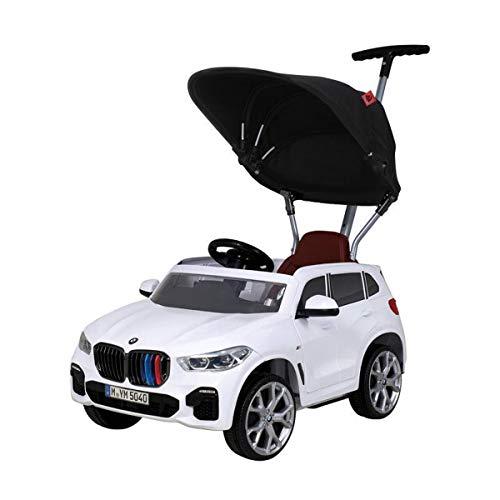 Rollplay 42133 Push Car mit ausziehbarer Fußstütze, Für Kinder ab 1 Jahr, Bis max. 25 kg, BMW X5M, weiß
