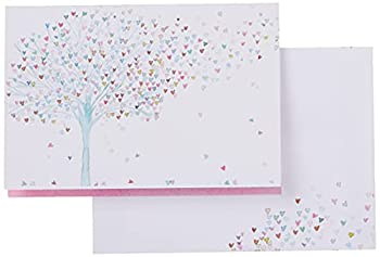Tree of Hearts Note Cards  Stationery Boxed Cards