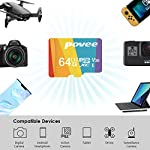 64GB Micro SD Card with Adapter,U3 MicroSDXC Card for Nintendo Switch, V30 Memory Card for Gopro Hero 7 Hero 8 Android… 12 U3 V30 High Speed: Read speed up to 100MB/s, write speed>35MB/s. High transfer speed will save your time of the data transferring.( Actual test speed base on USB3.0 card reader in USB3.0 Port, for devices that don't support UHS-I or USB2.0 port, the transmission speed will be different due to interface limitations.) Great Value for Nintendo Switch! Also great value for action camera like Gopro hero 7 hero 8 black,Yi, DJI Mavic Air Mavic Pro Series Phantom 4 Pro Phantom 4 Pro V2.0 Phantom 4 Advanced and other Drones. Good for 4K UHD video recording and high quality pictures. Good performance for use in Android Smartphones,Drones,Tablets, Action Cameras, Digital Cameras, Dash Cam, DSLRs and more. COMPATIBILE with most of the smart phone like Samsung Galaxy S10 S10+ S10e S9 S8 S7 A9 A6 A6+ Note 9 8 Tab S4 S3 J3; LG K30 G7 Q7 Q Stylus V40 V35; Sony Xperia XZ2 Premium Compact L2 XA2 Ultra Plus XZ1 L1 XZ; Amazon Fire 7 Fire HD 8 Fire HD 10; Moto E5,E6,G6,G7,Z3,Z4,Moto One