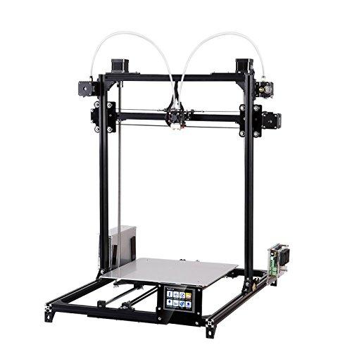 FLSUN C Plus Touch Screen Dual Nozzle 3D Printer i3 Plus DIY Kit Auto Leveling