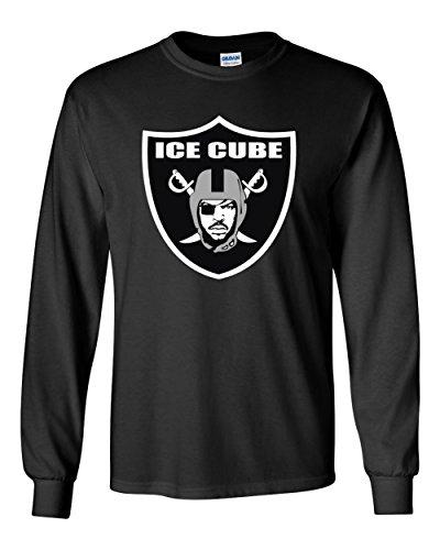 The Silo Long Sleeve Black Oakland Ice Cube Logo New T-Shirt Adult