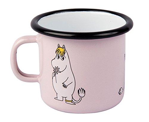 Muurla - Tasse/Henkeltasse/Henkelbecher - Mumins Snorkfräulein - Pink - Emaille - 250 ml