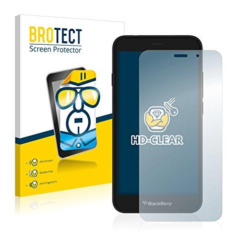 BROTECT Schutzfolie kompatibel mit BlackBerry Aurora (2 Stück) klare Bildschirmschutz-Folie