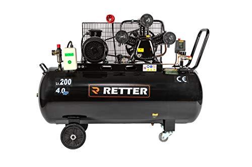 Kompressor Luftkompressor 200L, ölgeschmiert Luftkompressor 3 Zylinder Profi