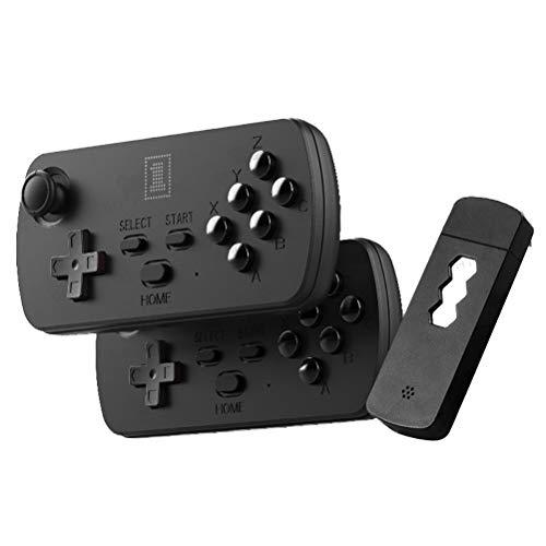 HEITIGN Retro-Spielekonsole, Drahtloser Gamecontroller, HDMI-TV HD-Ausgang Videospielkonsole Mini-TV-Spielekonsole, Drahtloser Doppel-Joystick mit Sechs Tasten, 3500 Klassische Spiele, 16 G