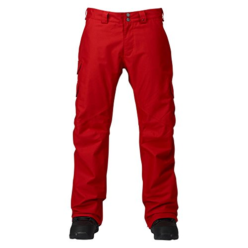 Burton Herren Snowboardhose CARGO PANT MID, Process Red, XS