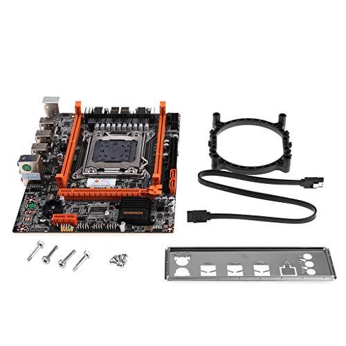 XIANSHI Placa mãe Huananzhi X79 4M LGA 2011 USB2.0 SATA2 suporta memória REG ECC e placas-mãe do processador Xeon E5 com WiFi