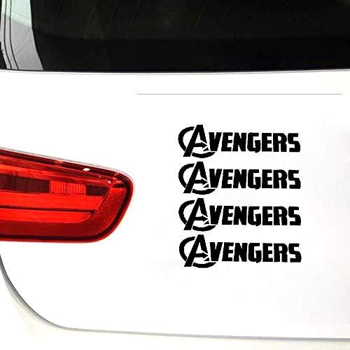 Avengers Avenger-folie met logo voor auto, bumper, vinyl, zelfklevend