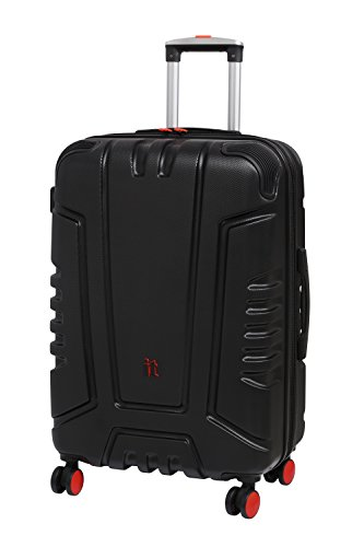 it Luggage Cherokee II Wheel Hard Shell Single Expander Suitcase with TSA lock