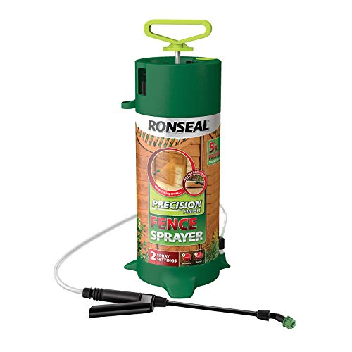 Ronseal RSLPPFS PPFS Precision Pump Fence Sprayer - Green