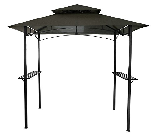 Charles Bentley 8 X 5ft Steel Grill Gazebo