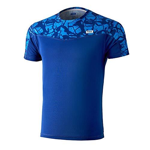 42K Running - Camiseta técnica 42k Ares Hombre Imperial Blue L
