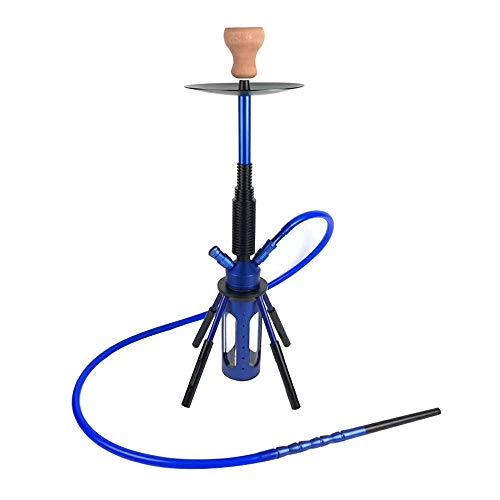 Mr. Hao Shisha Aluminium Shisha beleuchteter Rakete Bar KTV,Blau