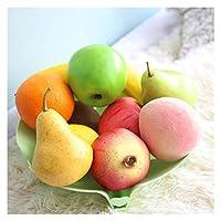 11ピースの偽の人工果物の装飾の泡の食品モデルのおもちゃ写真小道具11種類の偽の果実 (Color : 11 types mixed)