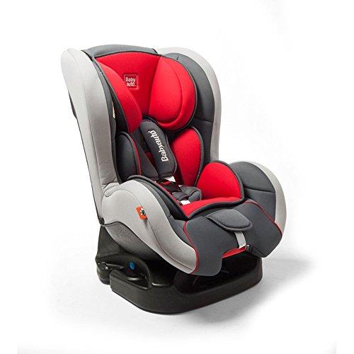 BabyAuto 8436015310155 Kindersitz Patxu Rot/Grau, 0-18 kg / 0-4 Jahr (E13 / ECE R44/04)