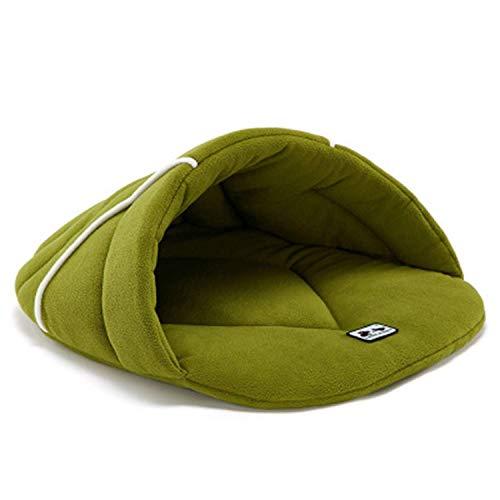 DGHJK Pet Nest Bett Fleece Warme Zwinger Matte Katzenzelt Four Seasons Universal Pet Schlafsack