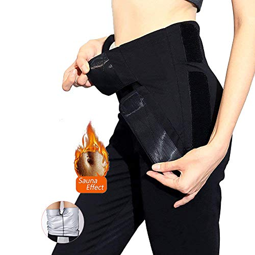 Pantalones de Yoga Neopreno Fitness Cintura Alta Pantalones Deportivos para Running Training Estiramiento Yoga y Pilates (XL)