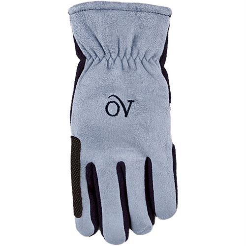 Ovation Polar Suede Fleece Gloves Medium Navy