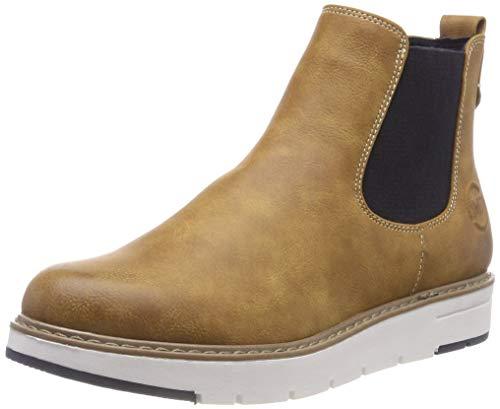 MARCO TOZZI Damen 25494-21 Chelsea Boots, Gelb (Corn Ant Com 681), 40 EU