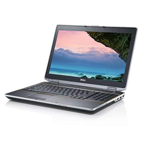 Dell Latitude E6520 - Ordenador portátil (Windows 10, i7 8 GB, 240 GB SSD, 15,6 GB, Webcam)