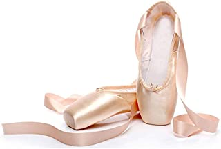 Acqrobe Adult Kinder Ballettschuhe Ballett Spitzenschuhe Professionelle Tanzschuhe Ballerinas mit B/ändern f/ür M/ädchen Frauen