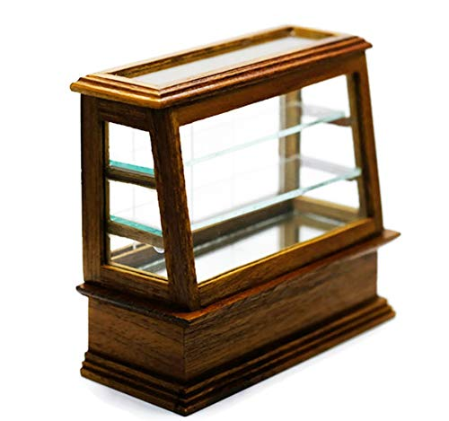 Wood Display Bakery Cake Cabinet Handcraft Dollhouse Miniatures Food Kitchen by Cool Price