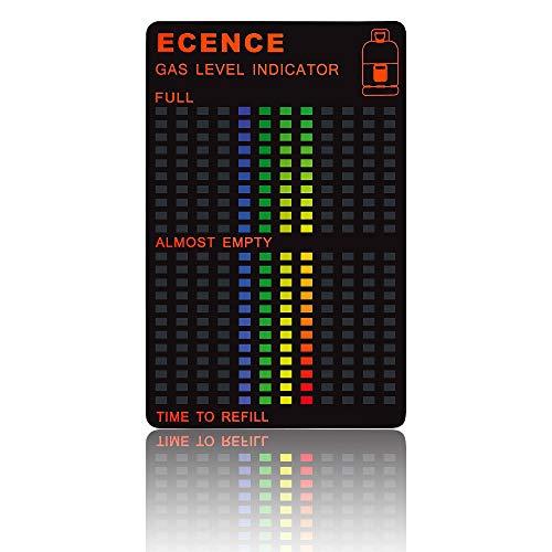ECENCE 1x GLI Magnetische Füllstandsanzeige Gasstand Gas-Anzeiger für Propan-Gas oder Butan Gasflaschen Gaskocher 21040509