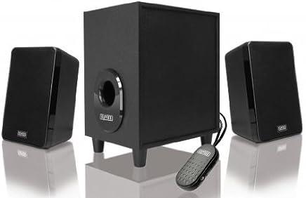 Sweex Speaker Set 2.1, 80 Watt, Nero - Trova i prezzi più bassi