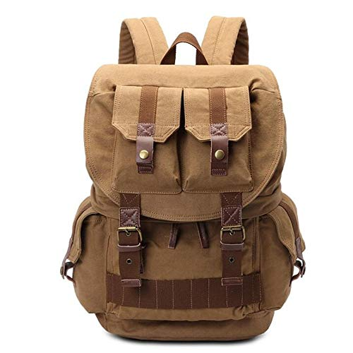 Camera Cases Camera Video Bag Shockproof Photography Shoulder Rucksack Outdoor Camping Waterproof DSLR Backpack For storing cameras (Color : Brown, Size : One size)