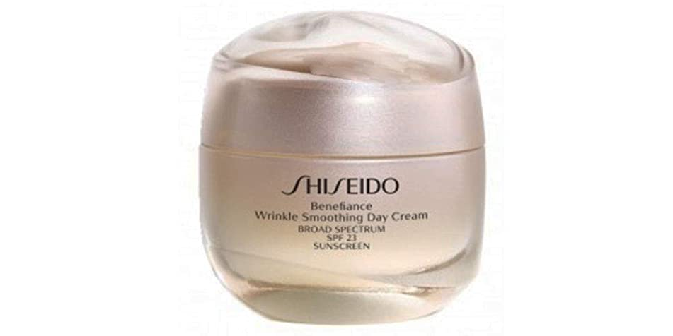 勇者麻酔薬現実的資生堂 Benefiance Wrinkle Smoothing Day Cream SPF 23 50ml/1.8oz並行輸入品