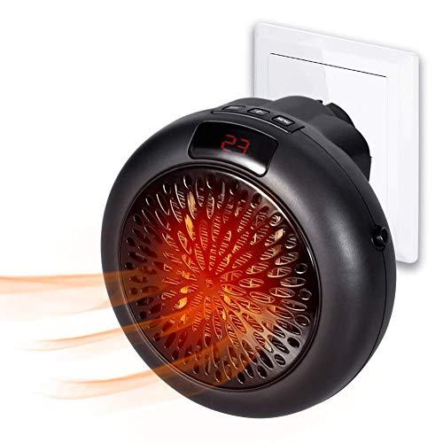 RENXR 900W Mini Calentador De Ventilador Eléctrico Portable Wonder Calentador Instantáneo Enchufe...