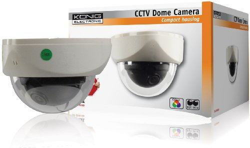 Konig SEC-CAM350 Telecamera di Sicurezza per il Controllo e l\'Osservazione Discreta