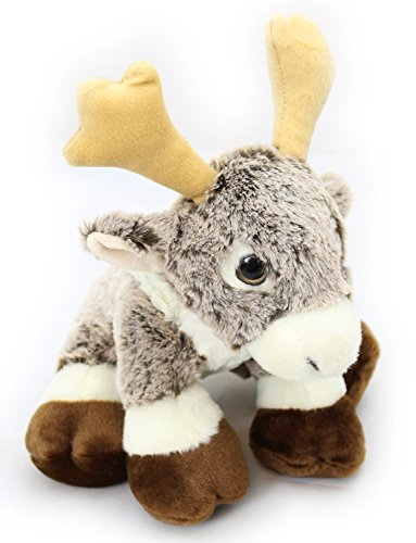 Carousel Toys and Gifts Plush Rodney the Reindeer Cuddly Soft Toy Teddy Bear 24cm