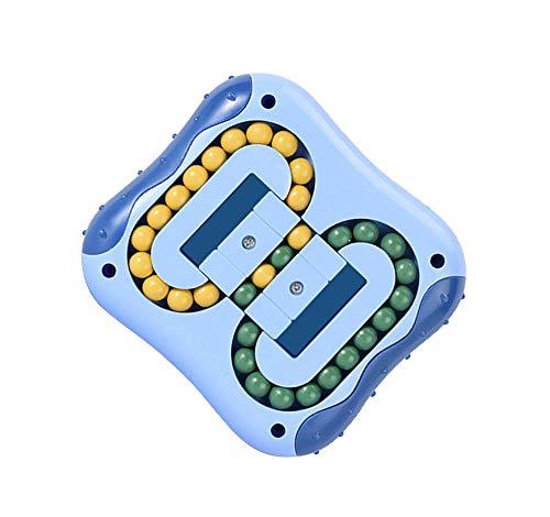 CaLeQi Descompresión Rotatorio Magic Bean Cube Juguetes Cuadrado Rotatorio Perlas pequeñas Magic Cube Rompecabezas para niños Descompresión Forma Especial Magic Cube Juego de Pelota Juguetes