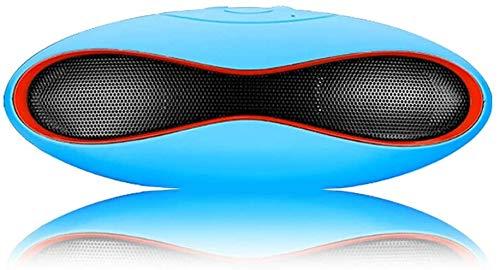 Mopoq Bluetooth Lautsprecher - drahtlose beweglichen Minilautsprecher-Computer-Subwoofer (Color : Blau)