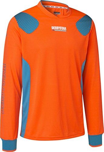 Derbystar Aponi Pro Torwarttrikot, L, orange petrol, 6615050760