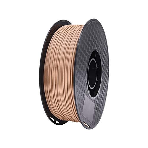 LHF Wood 3d Printer Filament,1.75mm PLA Filament,Dimensional Accuracy + - 0.02 Mm,Real Wood Filament Wood Pla 500g