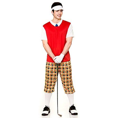 "Disfraz de Disfraz de Golfista Gracioso - Grande - 44 """