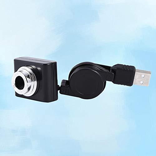 Richer-R Raspberry Pi USB Kamera, Tragbar F6.0MM Objektiv Kamera 640 * 480 Video USB Camera Keine Treiber,Geeignet für Raspberry Pi 3 Modell B Schwarz