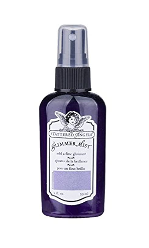 TATTERED ANGELS 22219 Glimmer Mist Water Based Paint, Majesty Purple
