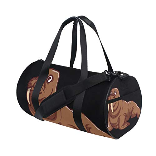 Duffel Bag Walrus Women Garment Gym Tote Bag Best Sports Bag for Boys