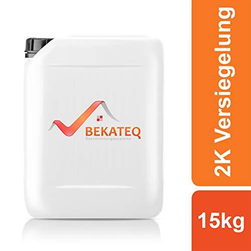 BEKATEQ 2K Epoxidharz Bodenversiegelung und -grundierung BK-400EP - 15KG